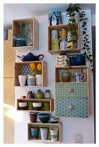 Kleines Regal Küche : weinkistenupcycling kleines kistenkabinett f r die wand deko pinterest kiste regal und ~ Markanthonyermac.com Haus und Dekorationen