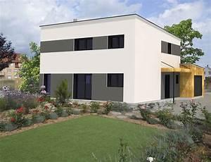 maison cubique toit plat nos projets maison cubique With plan de maison cubique 6 maisons cubiques architecture et tradition