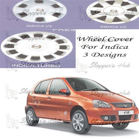 Prigan Car Full Wheel Covers Caps Silver Type For Tata