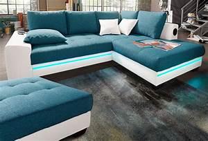 Sofa Mit Boxen Und Led : polsterecke mit beleuchtung wahlweise mit bluetooth soundsystem kaufen baur ~ Bigdaddyawards.com Haus und Dekorationen