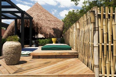 cloture en bambou am 233 nagement jardin 27 id 233 es pour int 233 grer le bambou
