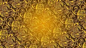 Gold pattern wallpaper - Digital Art wallpapers - #1927