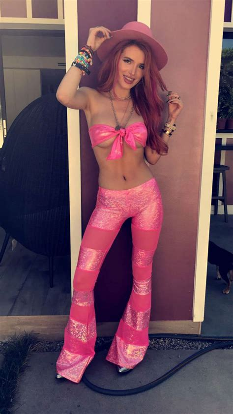 Bella Thorne Constantly Flashing Her Fake Boobs - Scandal Planet