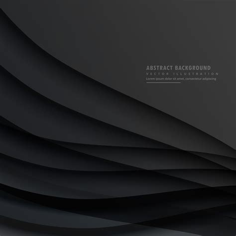 Abstract Black Vector Background by Abstract Background Vector Design Free
