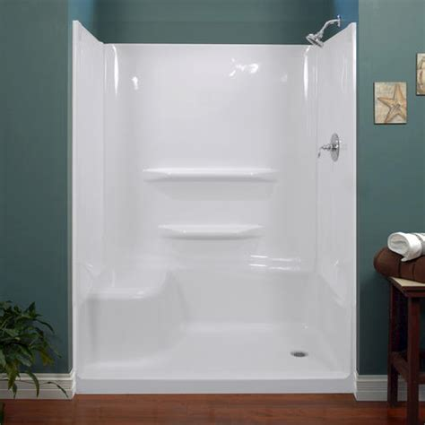 lyons elite 60 quot x 32 quot x 59 quot shower wall at menards 174