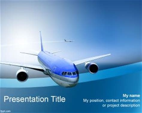 aviation powerpoint template