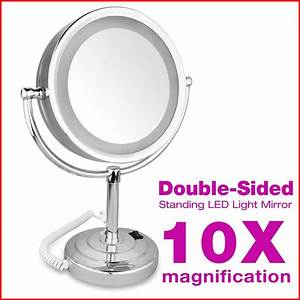 Miroir Grossissant X10 : avis miroir grossissant x10 lumineux test et comparatif ~ Carolinahurricanesstore.com Idées de Décoration