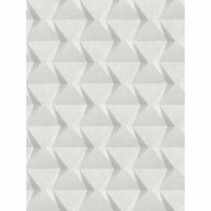Papier Peint Blanc Relief : papier peint intiss relief blanc cass tonic caselio ~ Melissatoandfro.com Idées de Décoration