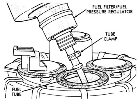 2005 Dodge Grand Caravan Fuel Filter Location by Repair Guides Fuel Filter Removal Installation