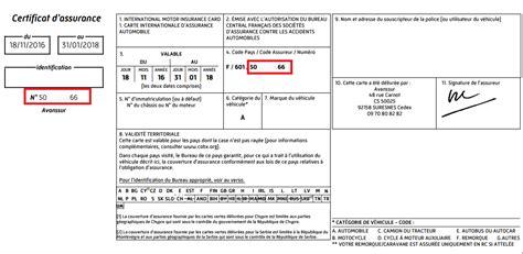 numero de carte verte o 249 trouver votre num 233 ro de contrat direct assurance