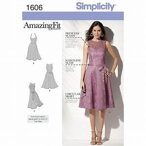 Pattern for Misses' & Miss Petite Amazing Fit Dress