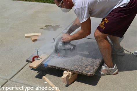 how to cut granite countertops yourself cutting granite for the home home improvement