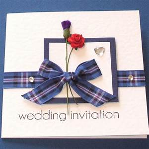 scottish wedding invitations rangers tartan truly madly With wedding invitations with tartan ribbon