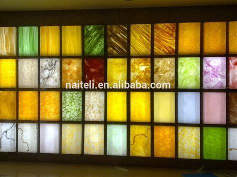 decorative acrylic onyx panel  club restaurant home