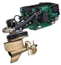 volvo penta ips  diesel inboard performance system ips