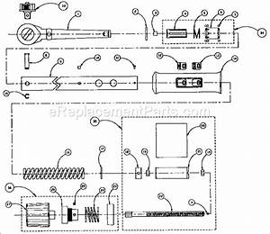 Craftsman 44545 Parts List And Diagram   Ereplacementparts Com