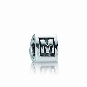 bolcom pandora bedel letter m zilveren bedel With pandora letter m