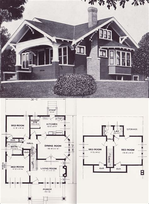 varina  bungalow  craftsman style   standard homes company house plans