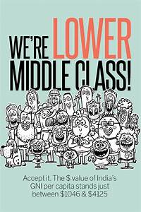 India is lower middle class! | NewsFlicks