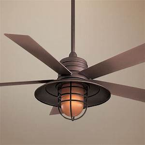 Oil rubbed bronze ceiling fan with light baby exit