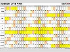 Kalender 2016 NRW Download Freewarede