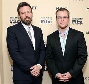 Ben Affleck and Matt Damon Incorporate Their Ideas | www ...