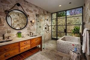 superbe maison de prestige au comte dorange au design With salle de bain design avec evier rustique