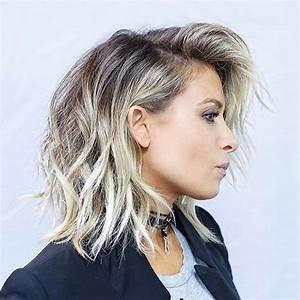 31 Lob Haircut Ideas For Trendy Women Beige Blonde Lob