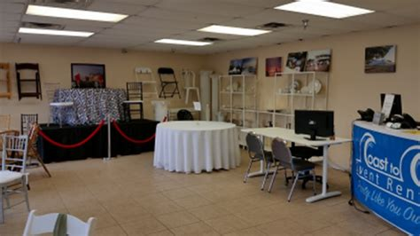 coast to coast event rentals rental store and