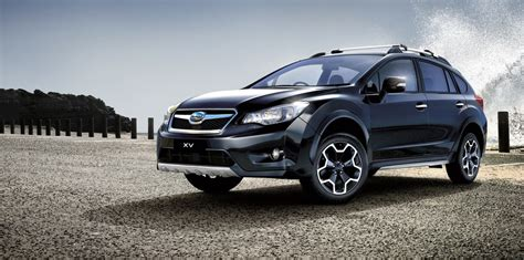 subaru cars black subaru black limited edition expands local suv line up