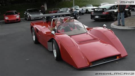 LOUD Manta Mirage Kit Car   Cars and Coffee Irvine   YouTube