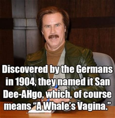 Anchorman I L Quote by Anchorman Burgundy Quotes Quotesgram