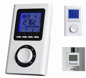 Carte Electronique Thermostat Radiateur : boitier de commande acova selon radiateur ~ Edinachiropracticcenter.com Idées de Décoration