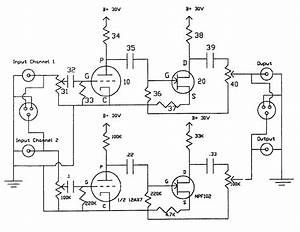 Audio Amplifier Circuit Page Circuits Next Gr Tube Input