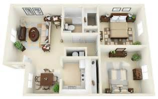 two bedroom floor plans 2 bedroom apartment house plans
