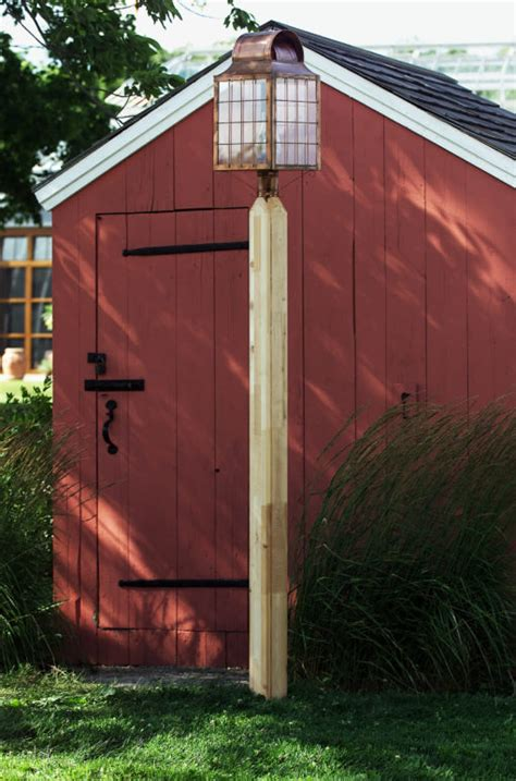 wood light pole cost outdoor wooden l posts post wood cedar rustic