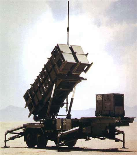 Patriot Missile Long-range Air-defence System Us Army