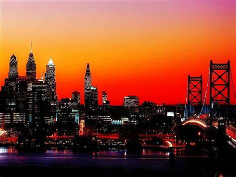 Philadelphia Skyline Wallpapers - Wallpaper Cave