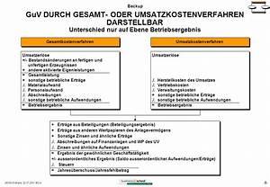 Bilanz Rechnung : gewinn und verlustrechnung umsatzkostenverfahren ~ Themetempest.com Abrechnung