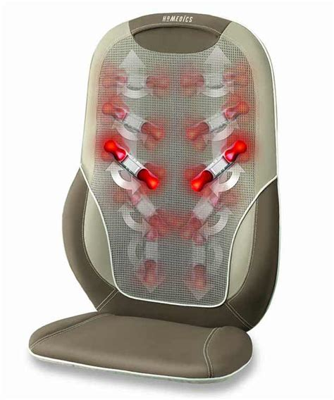 Homedics Chair Massager Mcs 510h homedics mcs 510h total back and shoulder cushion