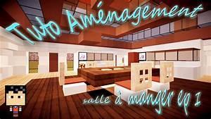 minecraft tuto amenagement salle a manger episode n1 With salle a manger minecraft