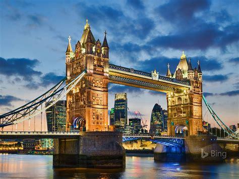tower bridge  london  bing desktop wallpaper preview