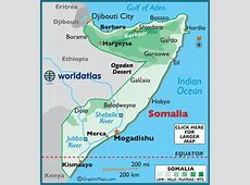 Somalia Map Geography of Somalia Map of Somalia