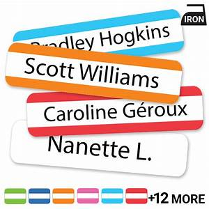 iron on clothing labels iron on labels iron on name With clothing id labels