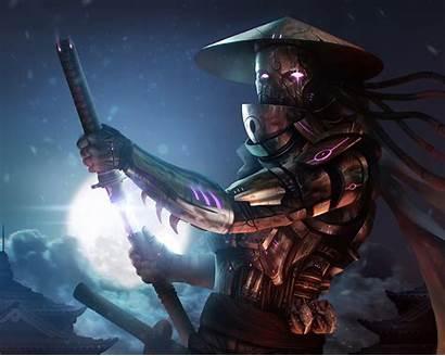 Samurai Fantasy Katana Wallpapers Backgrounds Desktop