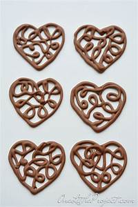 best 25 chocolate hearts ideas on pinterest chocolate With chocolate filigree templates