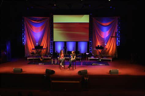 stage lighting design fabriffic church stage design ideas
