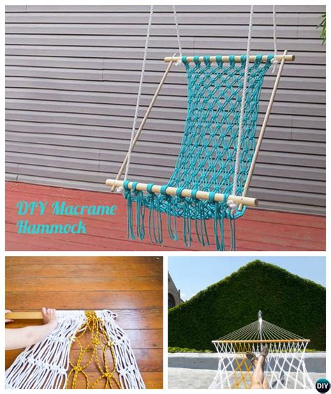 diy macrame hammock chair diy hammock projects picture Diy Macrame Hammock Chair