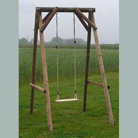 wooden garden single swing garden single swing small