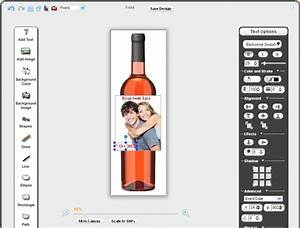 sell custom wine labels pixopa enterprise web to print With bottle label design software
